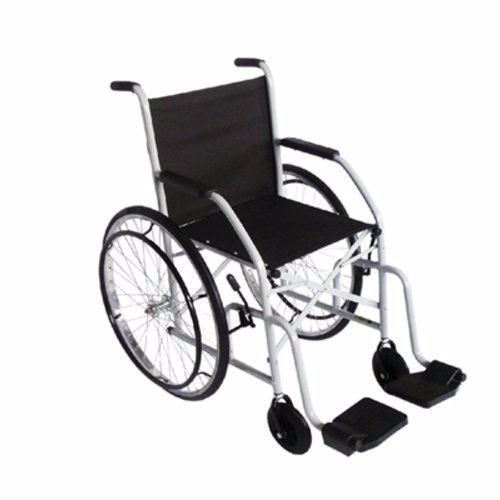 Cadeira de Rodas Simples com Pneus Infláveis e Roda Raiada 102 CDS