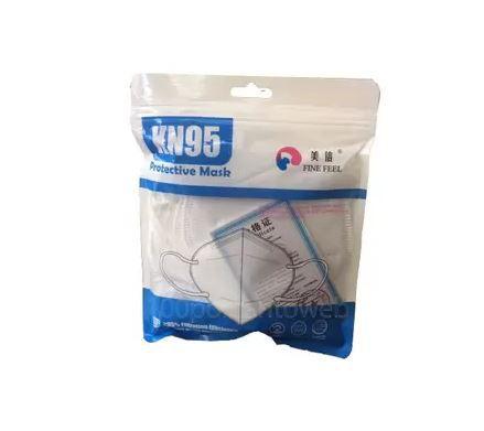 Máscara N95-Kit com 5 Unidades