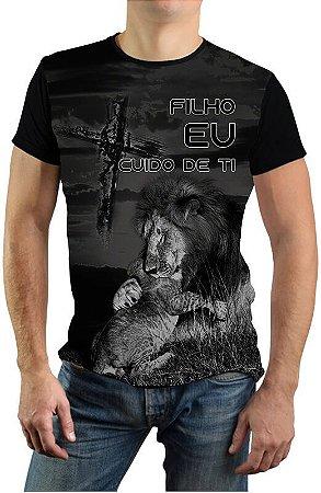 Camiseta Com Leão