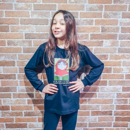 Camiseta Malala Infanto Juvenil (Algodão)