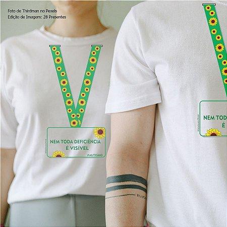Camiseta Cordão de girassol #autismo