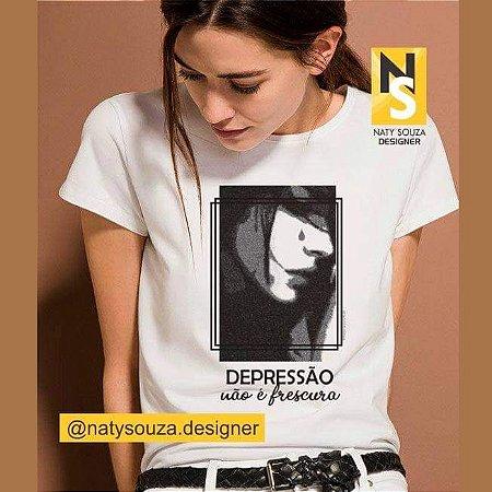 Depressão não é frescura (Algodão)