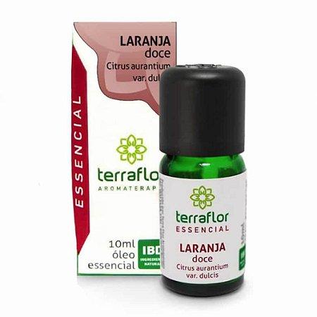Óleo Essencial de Laranja Doce - Terra Flor - 10 mL