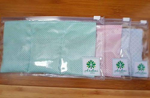 Almofada Térmica de Ervas Infantil para Cólicas - Ardeni Aromas - 10 cm x 18 cm