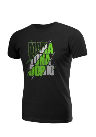 Camiseta Algodão Rajada Maratona do Rio Masculina