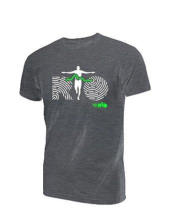 Camiseta Algodão Estonada Maratona do Rio Masculina
