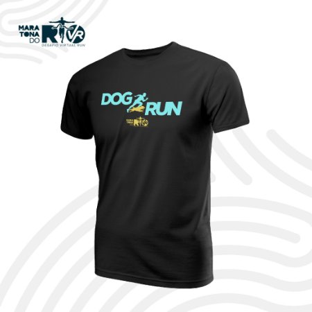 Camiseta Dry Desafio Dog run Masculina