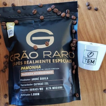 Café Grão Raro Pamonha