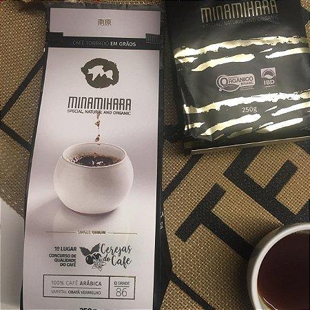 Café Especial Orgânico Minamihara - Campeão Concurso de Qualidade