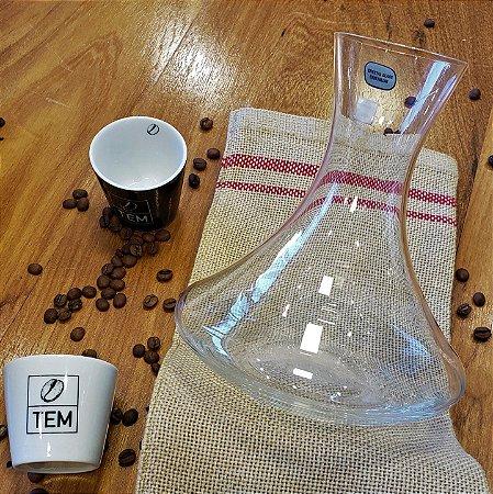 Decanter de Cristal para Cafés Especiais