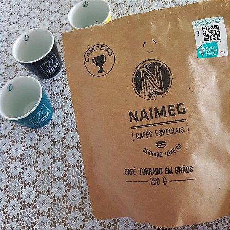 Café Especial Naimeg - LOTE CAMPEÃO do Concurso do Cerrado Mineiro 2020