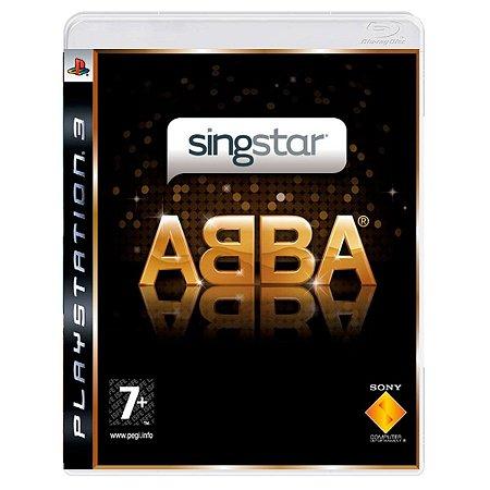 JOGO SINGSTAR ABBA PS3