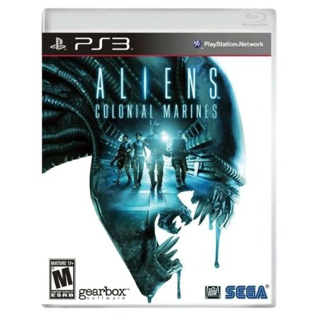 JOGO ALIENS: COLONIAL MARINES PS3