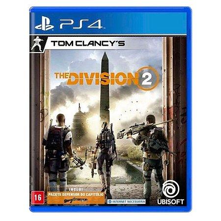 JOGO TOM CLANCY´S THE DIVISION 2 PS4 - SEMINOVO
