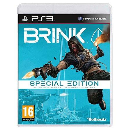 JOGO BRINK SPECIAL EDITION PS3