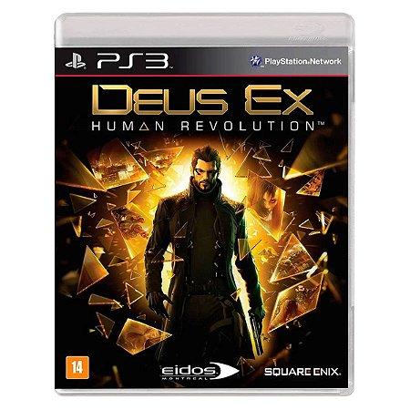 JOGO DEUS EX: HUMAN REVOLUTION PS3