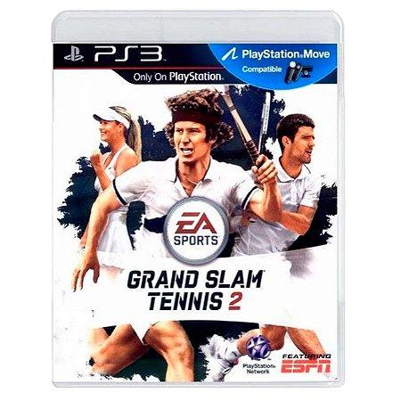 JOGO GRAND SLAM TENNIS 2 PS3