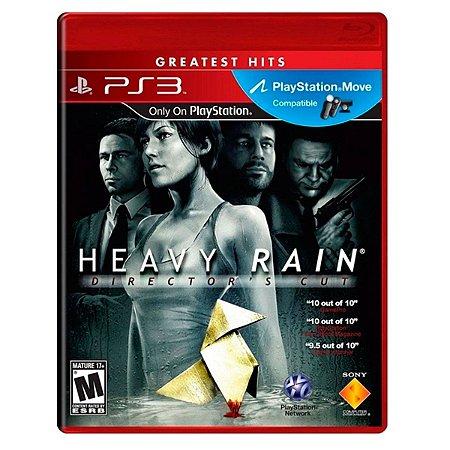 JOGO HEAVY RAIN DIRECTORS CUT PS3