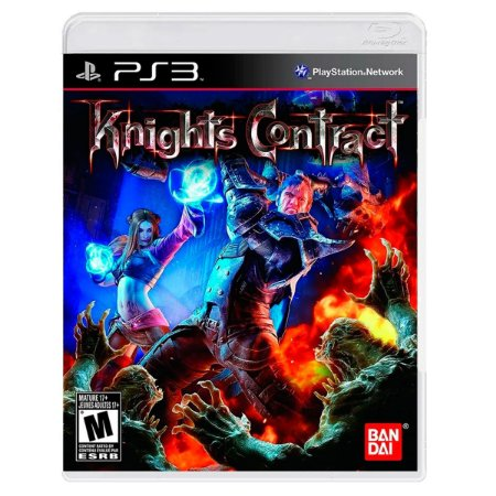 JOGO KNIGHTS CONTRACT PS3