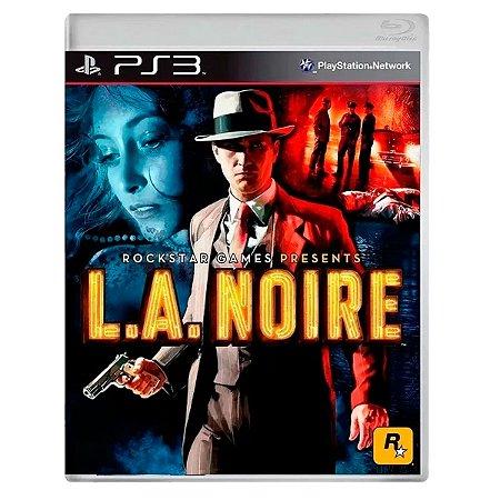 JOGO L.A.NOIRE PS3