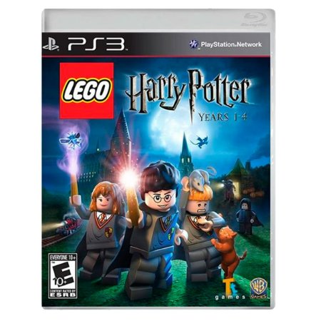 JOGO LEGO HARRY POTTER 1-4 YEARS PS3