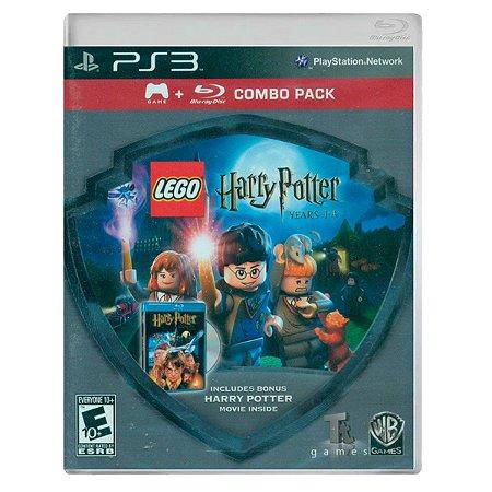 JOGO LEGO HARRY POTTER 1-4 YEARS - COMBO FILME PS3
