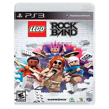 JOGO LEGO ROCK BAND PS3