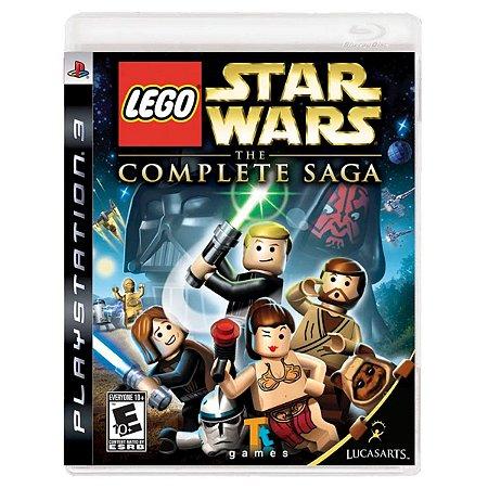 JOGO LEGO STAR WARS THE COMPLETE SAGA PS3