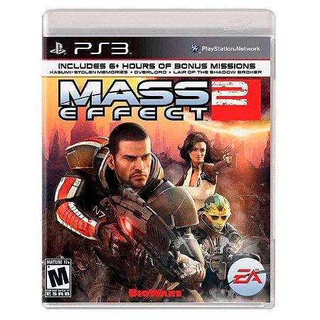 JOGO MASS EFFECT 2 PS3