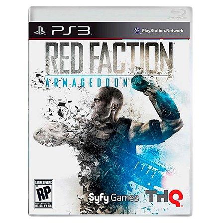 JOGO RED FACTION: ARMAGEDDON PS3