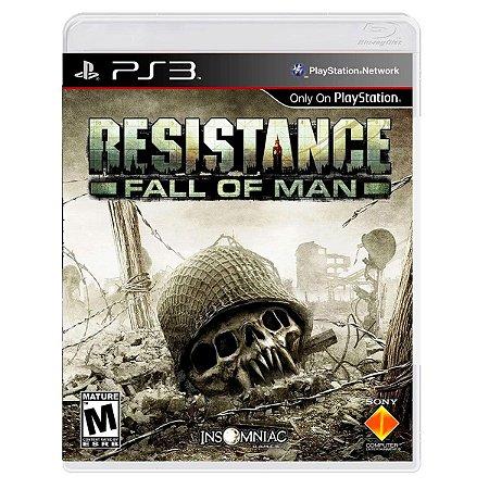 JOGO RESISTANCE: FALL OF MAN PS3