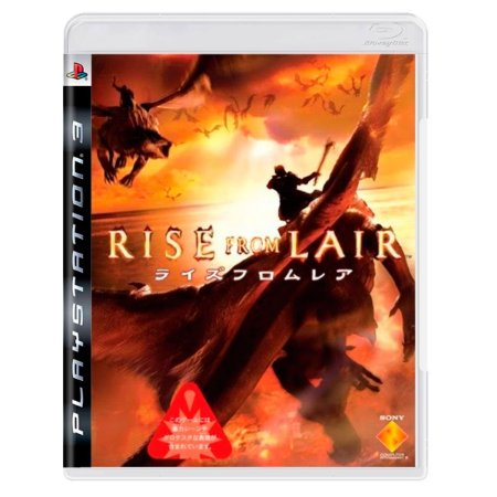 JOGO RISE FROM LAIR PS3