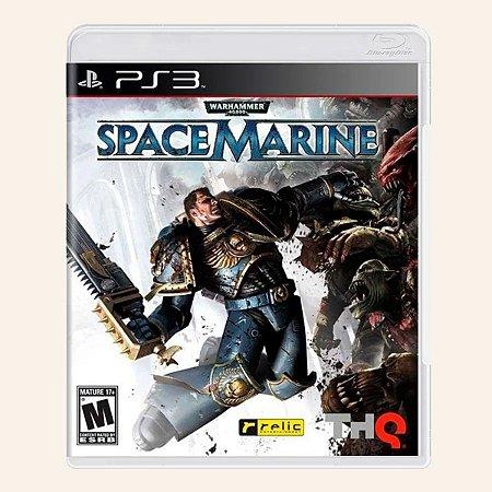 JOGO WARHAMMER 40,000: SPACE MARINE PS3
