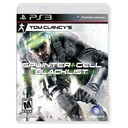 JOGO TOM CLANCY´S SPLINTER CELL: BLACKLIST PS3