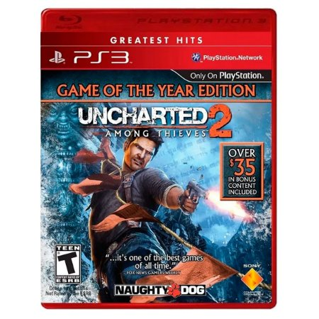 JOGO UNCHARTED 2: AMONG THIEVES PS3