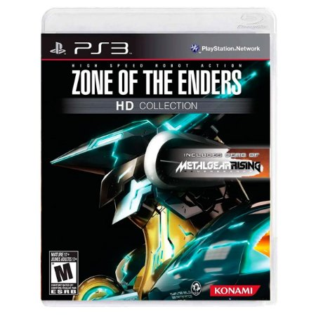 JOGO ZONE OF THE ENDERS HD COLLECTION PS3