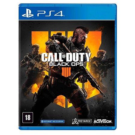 JOGO CALL OF DUTY: BLACK OPS 4 PS4 - NOVO