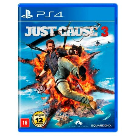 JOGO JUST CAUSE 3 PS4