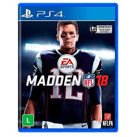 JOGO MADDEN NFL 18 PS4