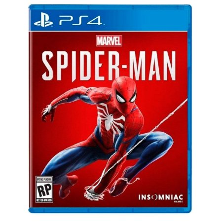 JOGO SPIDER-MAN PS4 - VERSÃO EM INGLÊS