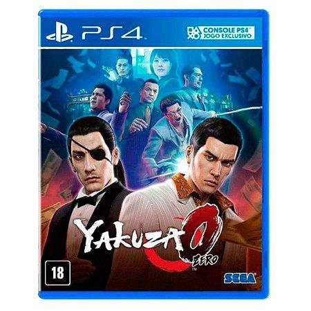JOGO YAKUZA ZERO PS4