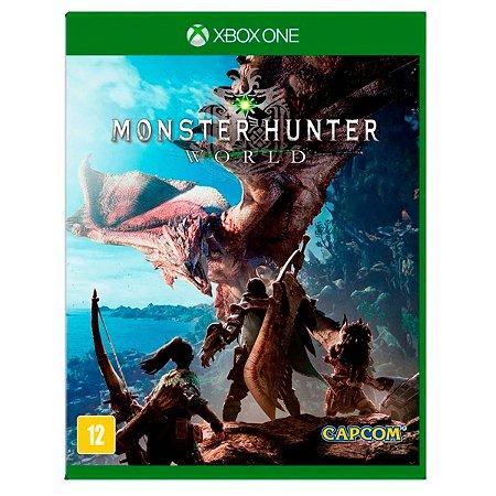 JOGO MONSTER HUNTER: WORLD XBOX ONE