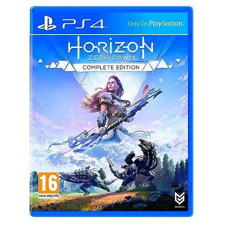 JOGO HORIZON ZERO DAWN COMPLETE EDITION PS4