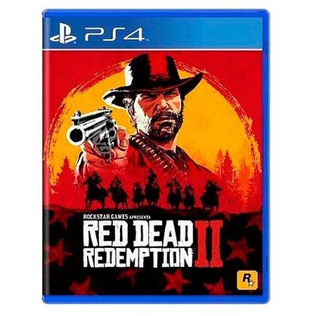 JOGO RED DEAD REDEMPTION 2 PS4