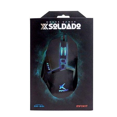 MOUSE GAMER X SOLDADO GM-601