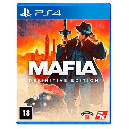 JOGO MÁFIA: DEFINITIVE EDITION PS4