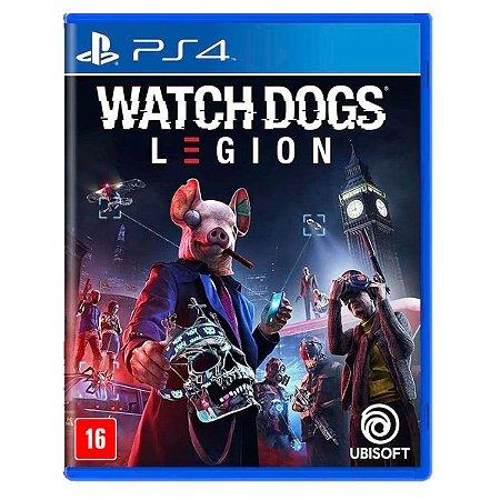 JOGO WATCH DOGS: LEGION PS4