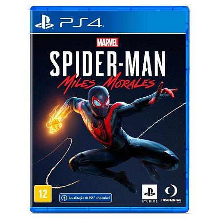 JOGO MARVEL'S SPIDER-MAN: MILES MORALES PS4 & PS5
