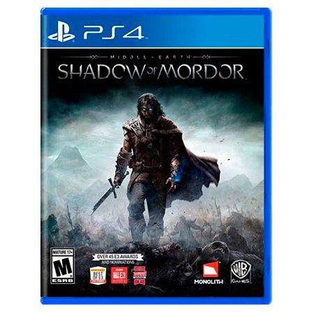 JOGO SHADOW OF MORDOR PS4