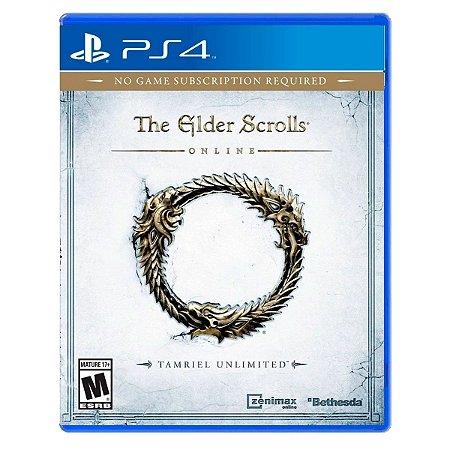 JOGO THE ELDER SCROLSS PS4
